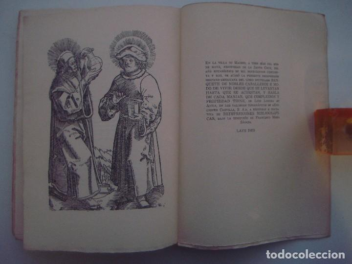 LOBERA DE AVILA. BANQUETE DE NOBLES CABALLEROS. 1952. FOLIO. PAPEL DE HILO. (Libros de Segunda Mano (posteriores a 1936) - Literatura - Narrativa - Clásicos)