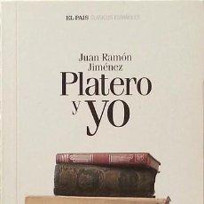 Libros de segunda mano: PLATERO Y YO - JUAN RAMÓN JIMÉNEZ. Lote 85221132