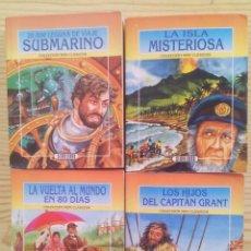 Libros de segunda mano: LOTE 4 LIBROS COLECCION MINI CLASICOS (TAPA BLANDA). Lote 85412692