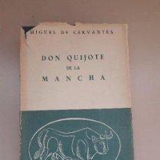 Libros de segunda mano: DON QUIJOTE DE LA MANCHA. CERVANTES. Lote 85976026