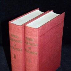 Libros de segunda mano: HUGO WAST, OBRAS COMPLETAS. 2 TOMOS. EDICIONES FAX, 1957. PAPEL BIBLIA, DOS COLUMNAS. Lote 86198252