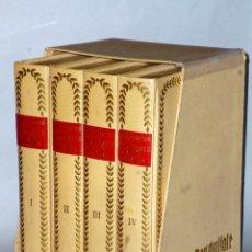 Libros de segunda mano: EL INGENIOSO HIDALGO DON QUIJOTE DE LA MANCHA (4 TOMOS). Lote 86512896