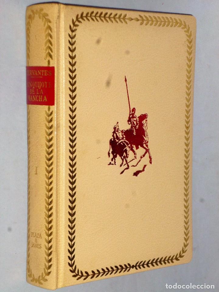 Libros de segunda mano: EL INGENIOSO HIDALGO DON QUIJOTE DE LA MANCHA (4 TOMOS) - Foto 4 - 86512896