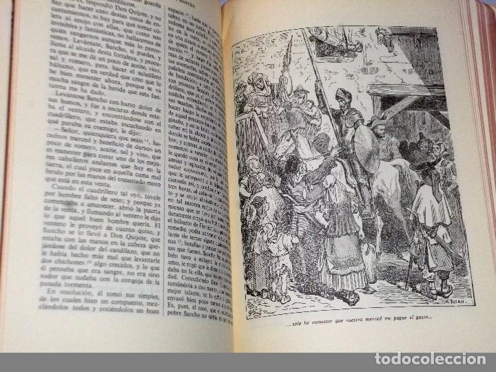 Libros de segunda mano: EL INGENIOSO HIDALGO DON QUIJOTE DE LA MANCHA (4 TOMOS) - Foto 6 - 86512896