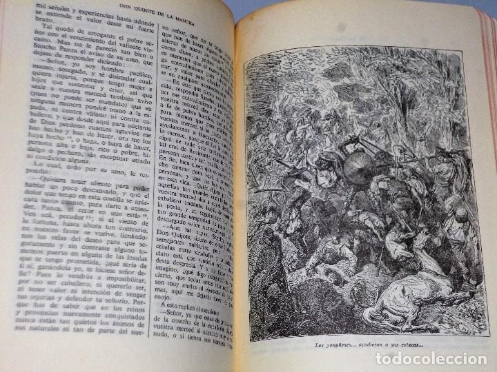 Libros de segunda mano: EL INGENIOSO HIDALGO DON QUIJOTE DE LA MANCHA (4 TOMOS) - Foto 7 - 86512896