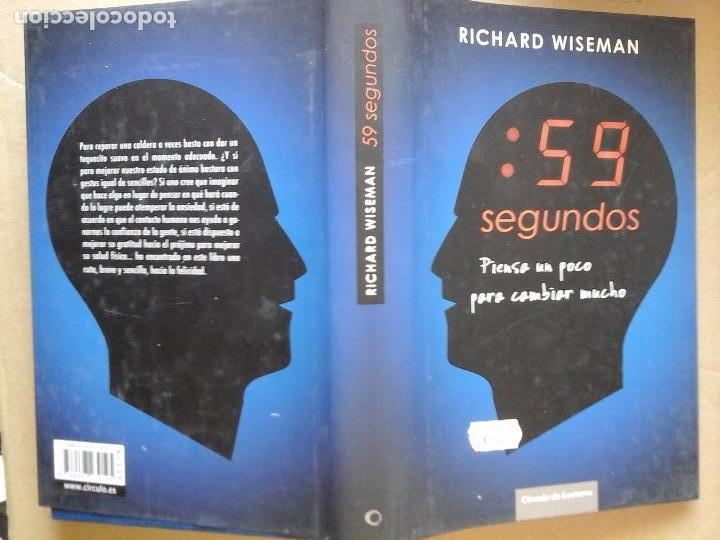 Libro 59 Segundos Richard Wiseman Vendido En Venta Directa