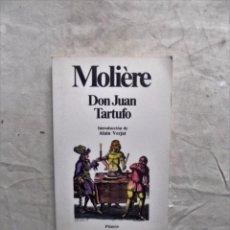 Libros de segunda mano: DON JUAN TARTUFO DE MOLIERE . Lote 87065872
