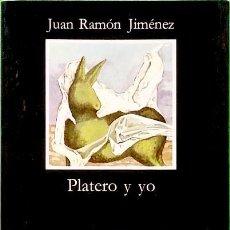 Libros de segunda mano: PLATERO Y YO - JUAN RAMÓN JIMÉNEZ. Lote 87261152