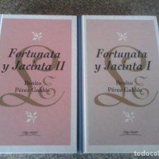 Libros de segunda mano: FORTUNATA Y JACINTA - LIBRO 1 Y 2 -- BENITO PEREZ GALDOS -- ORBIS - 1994 --. Lote 87263040