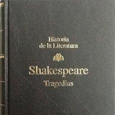 Libros de segunda mano: TRAGEDIAS. SHAKESPEARE -.RBA. Lote 87446660