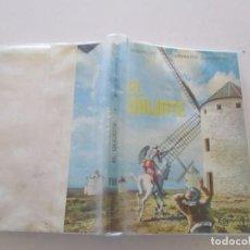 Libros de segunda mano: MIGUEL DE CERVANTES SAAVEDRA. EL INGENIOSO HIDALGO DON QUIJOTE DE LA MANCHA. RMT81115. . Lote 88159600
