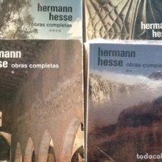 Libros de segunda mano: HERMAN HESSE. OBRAS COMPLETAS.. Lote 89287988