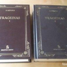 Libros de segunda mano: TRAGEDIAS DE EURIPIDES. Lote 89528528