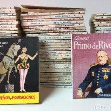Libros de segunda mano: INCREÍBLE LOTE DE 91 LIBRITOS, CLÁSICOS LITERARIOS (AUTORES VARIADO) EDIT. PULGA - BUEN ESTADO!!. Lote 89613876