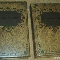 Libros de segunda mano: EL DECAMERON, DOS TOMOS, DALMAU SOCIAS 1981, 322 Y 354 PG., IMPECABLES SIN USO. Lote 90183676