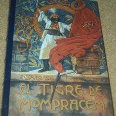 Libros de segunda mano: EL TIGRE DE MOMPRACEM, SALGARI, RBA 2004, TAPA DURA 286 PG, IMPECABLE SIN USO- LEER. Lote 90331232