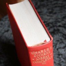 Libros de segunda mano: DICKENS - OBRAS COMPLETAS - TOMO III - AGUILAR - 1959 - PIEL. Lote 90818090