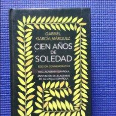 Libros de segunda mano: CIEN AÑOS DE SOLEDAD GABRIEL GARCIA MARQUEZ EDICION CONMEMORATIVA. Lote 90836025