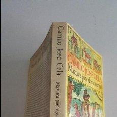 Libros de segunda mano: MAZURCA PARA DOS MUERTOS-CAMILO JOSE CELA-11 ED.1983 SEIX BARRAL. Lote 91026735