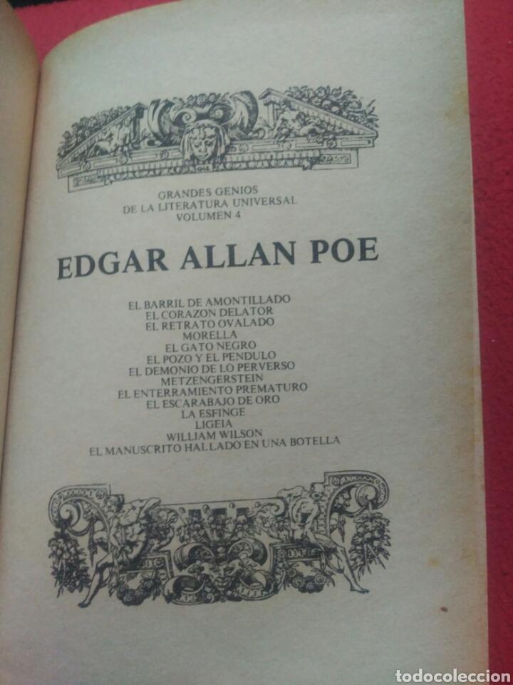 Libros de segunda mano: Narraciones extraordinarias. Edgar Allan Poe - Foto 2 - 91158880