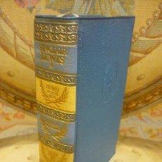 Libros de segunda mano: SINCLAIR LEWIS: NOVELAS ESCOGIDAS. AGUILAR, BIBLIOTECA PREMIOS NOBEL, 1ª EDICIÓN 1.957.. Lote 91440785