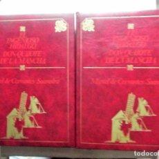 Libros de segunda mano: EL INGENIOSO HIDALGO DON QUIJOTE DE LA MANCHA CERVANTES ILUSTRADO POR GREGORIO PRIETO 2 TOMOS. Lote 91569030
