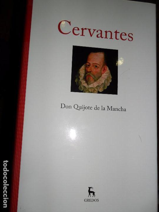 DON QUIJOTE DE LA MANCHA, MIGUEL DE CERVANTES, ED. GREDOS (Libros de Segunda Mano (posteriores a 1936) - Literatura - Narrativa - Clásicos)