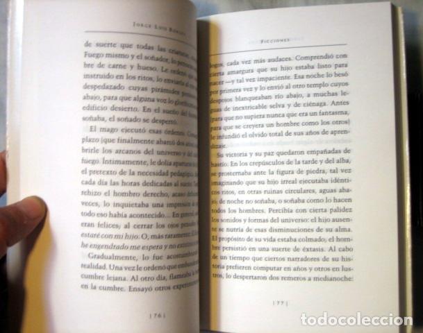 Libros de segunda mano: Ficciones, de Jorge Luis Borges. Editorial Emecé - perteneciente a las obras completas - Foto 4 - 92216380