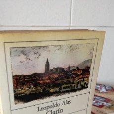 Libros de segunda mano: 3-UNA NOVELA Y OCHO CUENTOS, LEOPOLDO ALAS CLARIN, 1983. Lote 92852025