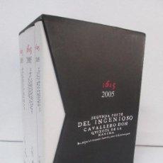 Libros de segunda mano: CERVANTES. DON QUIJOTE DE LA MANCHA. 1605 - 2005. QUIXOTE IV CENTENARIO. CASTILLA LA MANCHA . Lote 93348275