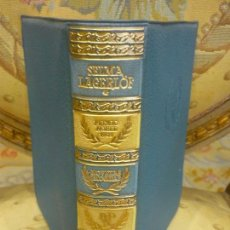 Libros de segunda mano: SELMA LAGERLÖF: NOVELAS ESCOGIDAS. TOMO I. COLECCIÓN PREMIOS NOBEL DE AGUILAR, 1ª EDICIÓN 1.956.. Lote 93558455