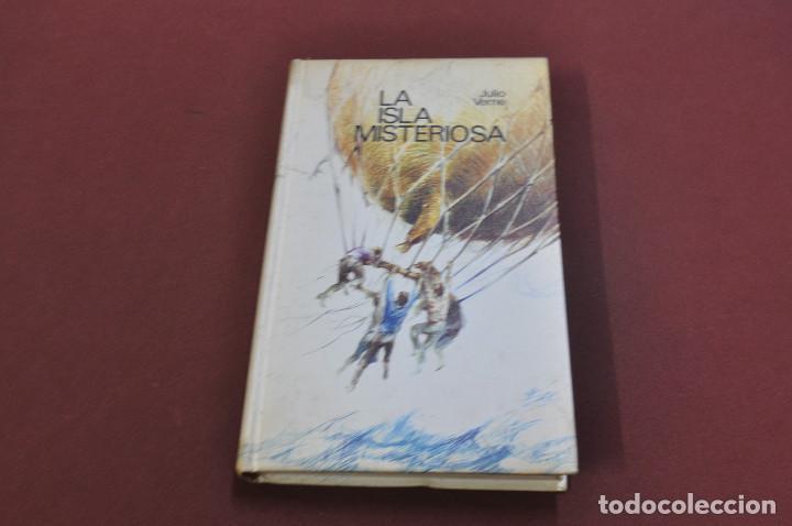 LA ISLA MISTERIOSA - JULIO VERNE - CIRCULO DE LECTORES - CL3 (Libros de Segunda Mano (posteriores a 1936) - Literatura - Narrativa - Clásicos)