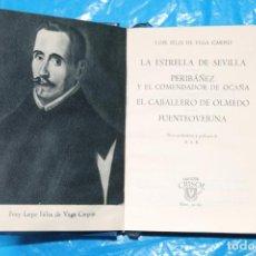 Libros de segunda mano: LOPE DE VEGA, , CUATRO OBRAS CENTRALES, CRISOL Nº 32 BIS, AGUILAR 1957. Lote 94050495