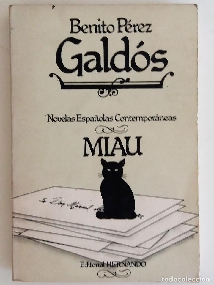 Benito p rez gald s miau comprar libros cl sicos en todocoleccion 94433918 - Libreria segunda mano online ...
