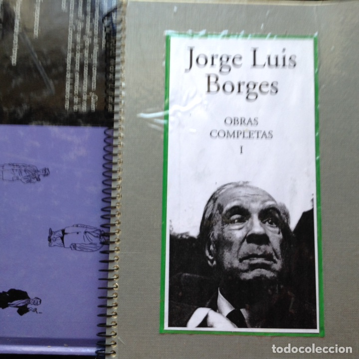 OBRAS COMPLETAS. JORGE LUIS BORGES. COPIA (Libros de Segunda Mano (posteriores a 1936) - Literatura - Narrativa - Clásicos)