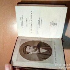Libros de segunda mano: HISTORIA DE LA CIVILIZACIÓN IBERICA, ED. AGUILAR. Lote 95129479