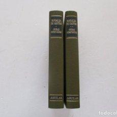 Libros de segunda mano: ROSALÍA DE CASTRO. OBRAS COMPLETAS I Y II. DOS TOMOS. RM82153.. Lote 95146083