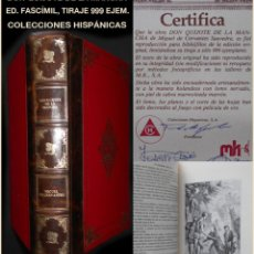 Libros de segunda mano: PCBROS - DON QUIJOTE DE LA MANCHA - MIGUEL DE CERVANTES SAAVEDRA - COLECCIONES HISPÁNICAS -999 EJEMP. Lote 95510883