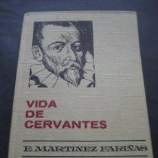 Libros de segunda mano: LIBRO VIDA DE CERVANTES. ED. BRUGUERA 1970. . Lote 95794159