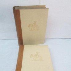 Libros de segunda mano: CERVANTES. DON QUIJOTE DE LA MANCHA. TOMO I-II. INTRODUCCION MARTIN DE RIQUER. EDITORIAL LABOR 1958. Lote 95810823