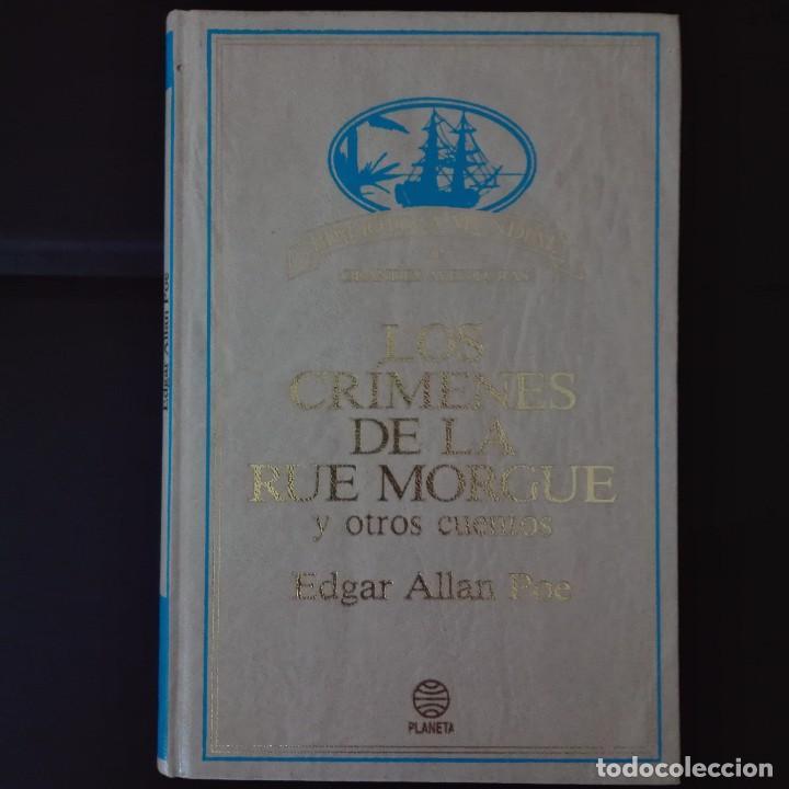 LOS CRÍMENES DE LA RUE MORGUE EDGAR ALAN POE (Libros de Segunda Mano (posteriores a 1936) - Literatura - Narrativa - Clásicos)