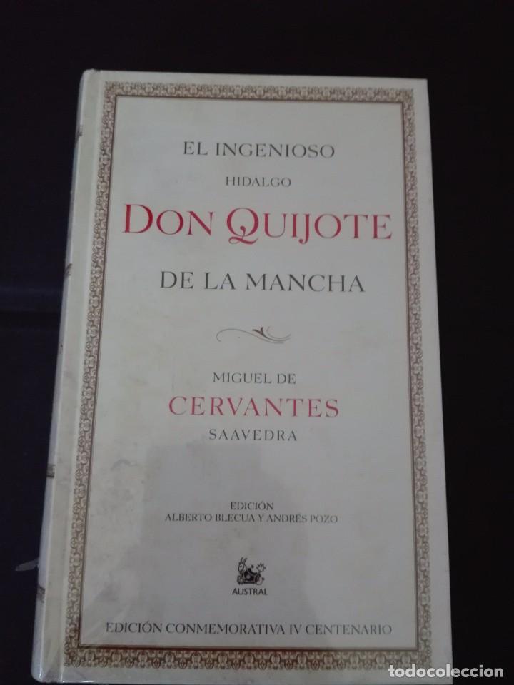 EL INGENIOSO HIDALGO DON QUIJOTE DE LA MANCHA AUSTRAL NUEVO PRECINTADO (Libros de Segunda Mano (posteriores a 1936) - Literatura - Narrativa - Clásicos)