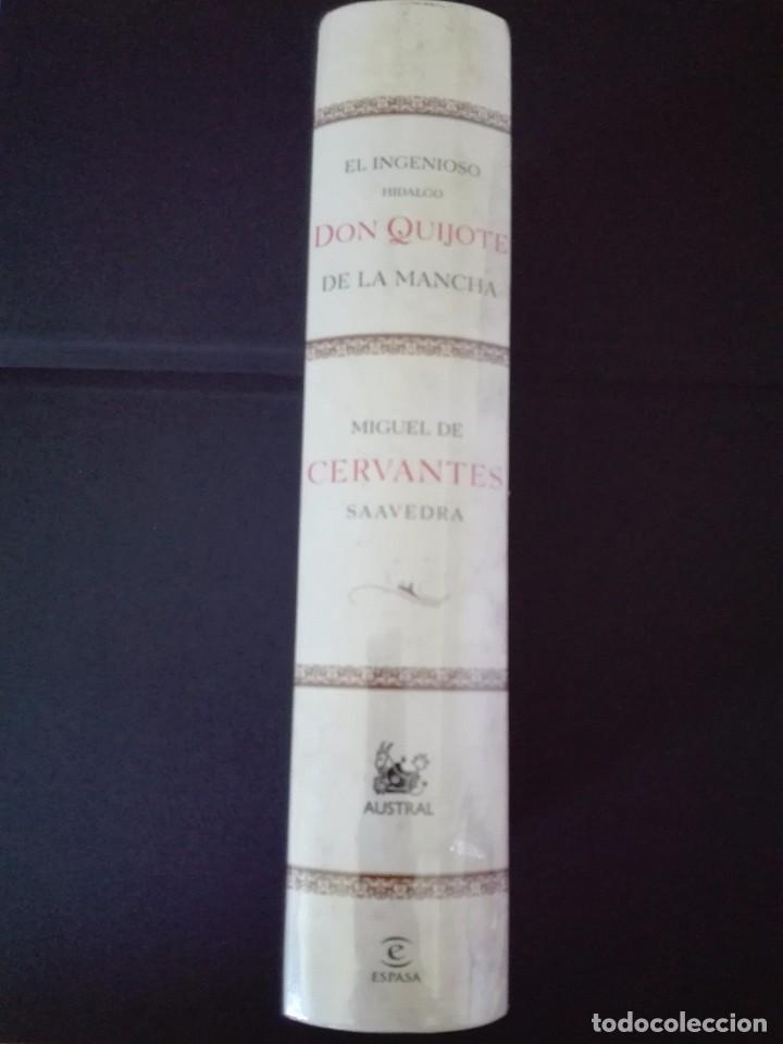 Libros de segunda mano: El ingenioso hidalgo Don Quijote de la Mancha Austral nuevo precintado - Foto 2 - 218342151