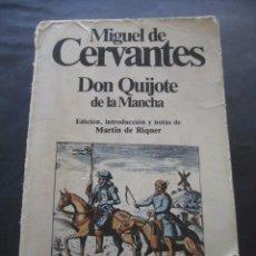 Libros de segunda mano: LIBRO DON QUIJOTE DE LA MANCHA. ED. PLANETA 1988.. Lote 95928675