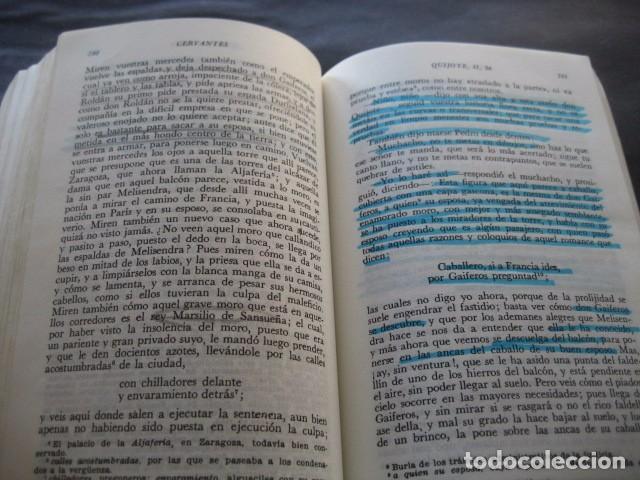 Libros de segunda mano: LIBRO DON QUIJOTE DE LA MANCHA. ED. PLANETA 1988. - Foto 2 - 95928675
