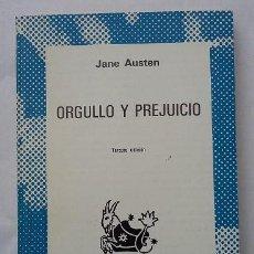 Libros de segunda mano: JANE AUSTEN. ORGULLO Y PREJUICIO. COLECCIÓN AUSTRAL. ESPASA CALPE AÑO 1976. Lote 96501951
