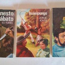 Libros de segunda mano: RAREZA - NOVELAS DE PEPSA EDITORES - SOLO 20000 EJEMPLARES DE TIRADA - CORTÁZAR SÁBATO E ICAZA. Lote 97037631