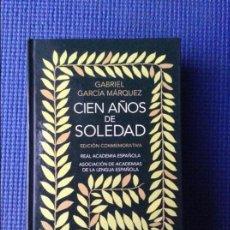 Libros de segunda mano: CIEN AÑOS DE SOLEDAD GABRIEL GARCIA MARQUEZ EDICION CONMEMORATIVA. Lote 97080539