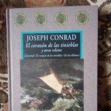 Libros de segunda mano: EL CORAZÓN DE LAS TINIEBLAS Y OTROS RELATOS, DE JOSEPH CONRAD. AVATARES, VALDEMAR. EXCELENTE ESTADO.. Lote 97440955