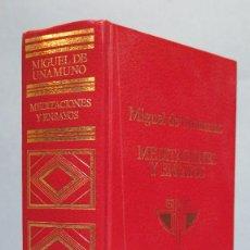 Libros de segunda mano: 1967.- MEDITACIONES Y ENSAYOS ESPIRITUALES. UNAMUNO. ESCELICIER. Lote 97977667